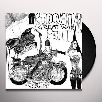 Rudimentary Peni GREAT WAR Vinyl Record