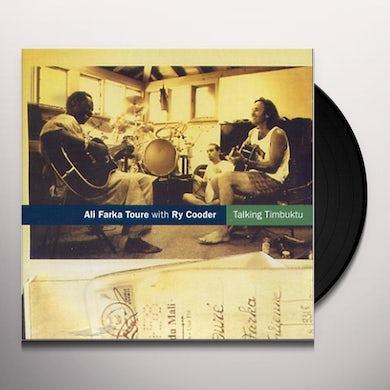 Ali Farka Toure TALKING TIMBUKTU Vinyl Record
