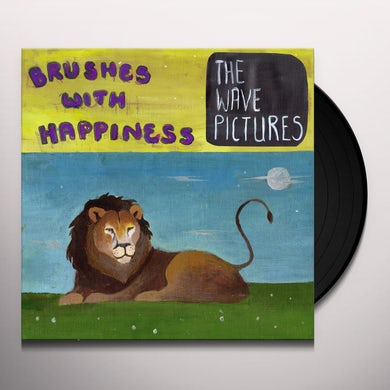 The Wave Pictures BRUSHES WITH HAPPINESS Vinyl Record