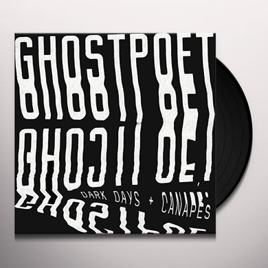 Ghostpoet DARK DAYS & CANAPES Vinyl Record
