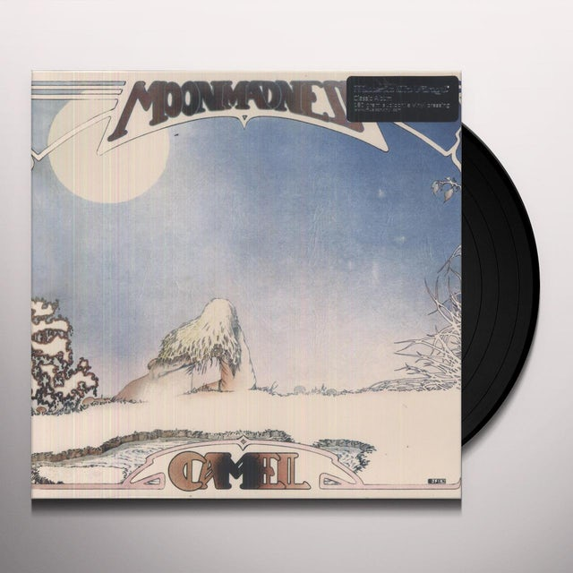 Camel MOONMADNESS Vinyl Record