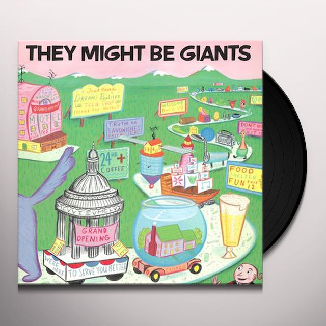 They Might Be Giants Vinyl Record