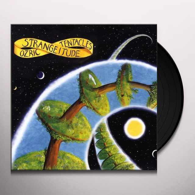 Ozric Tentacles STRANGITUDE Vinyl Record