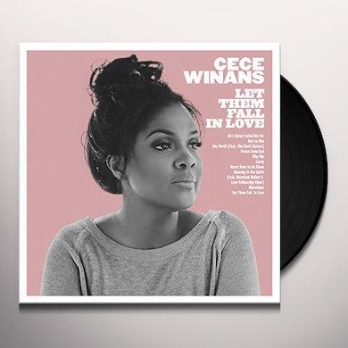 CeCe Winans LET THEM FALL IN LOVE Vinyl Record