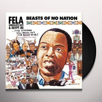 Fela Kuti BEASTS OF NO NATION Vinyl Record