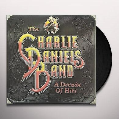 Charlie Daniels DECADE OF HITS Vinyl Record