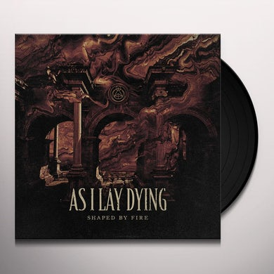 As I Lay Dying SHAPED BY FIRE (BEER/BLACK SPLATTER) Vinyl Record