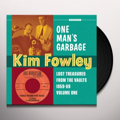 Kim Fowley ANOTHER MAN'S GOLD Vinyl Record