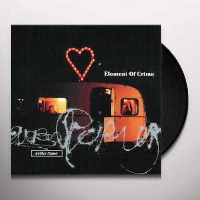 Element Of Crime WEISSES PAPIER Vinyl Record