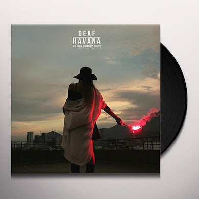 Deaf Havana ALL THESE COUNTLESS NIGHTS Vinyl Record