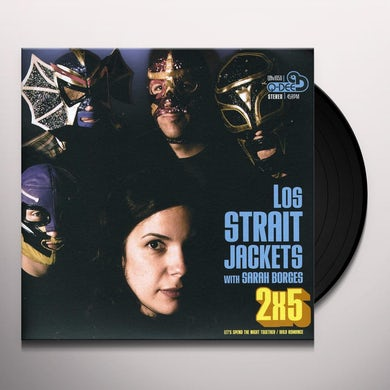 Los Straitjackets LET'S SPEND THE NIGHT TOGETHER / WILD ROMANCE Vinyl Record