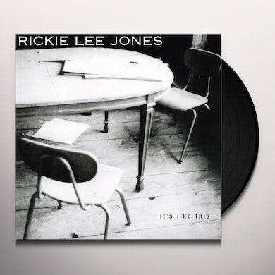 Rickie Lee Jones IT'S LIKE THIS Vinyl Record - 180 Gram Pressing