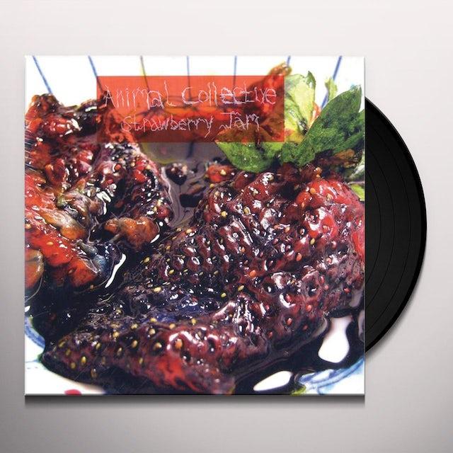 Animal Collective STRAWBERRY JAM Vinyl Record