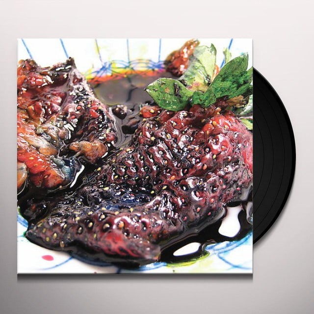 Animal Collective STRAWBERRY JAM Vinyl Record