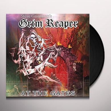 Steve Grimmett'S Grim Reaper AT THE GATES Vinyl Record