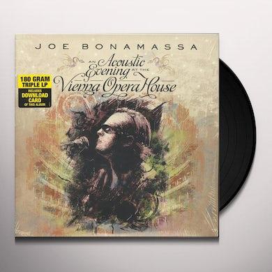 Joe Bonamassa AN ACOUSTIC EVENING AT THE VIENNA OPERA HOUSE Vinyl Record