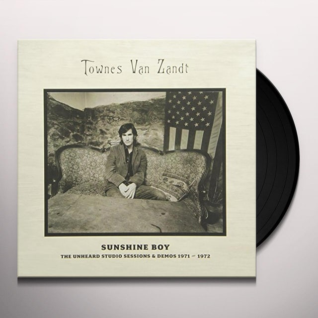 Townes Van Zandt SUNSHINE BOY: THE UNHEARD STUDIO SESSIONS & DEMOS (Vinyl)