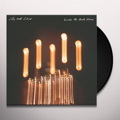 City and Colour GUIDE ME BACK HOME - Limited Edition Orange Colored Vinyl Record