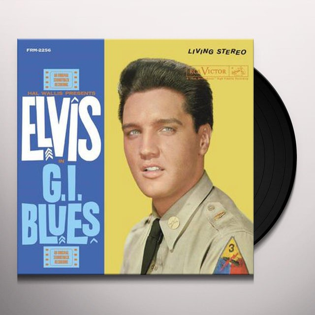 Elvis Presley G.I. BLUES Vinyl Record