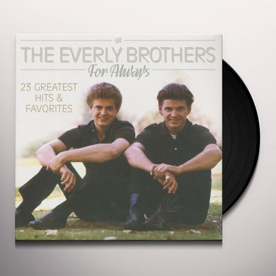 The Everly Brothers FOR ALWAYS Vinyl Record