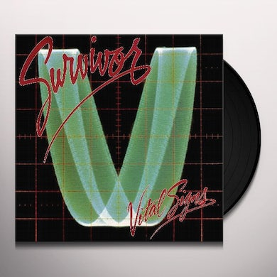 Survivor VITAL SIGNS Vinyl Record