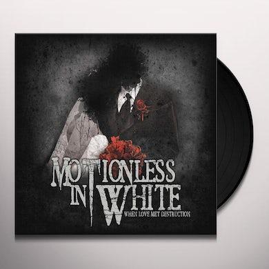 Motionless In White When Love Met Destruction Vinyl Record