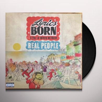 Lyrics Born REAL PEOPLE Vinyl Record