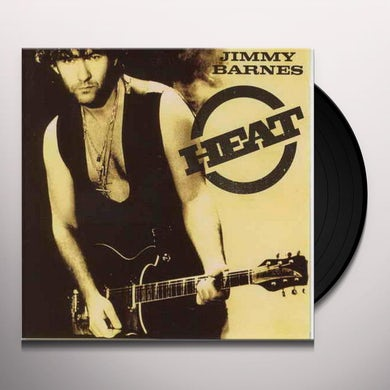 Jimmy Barnes HEAT Vinyl Record