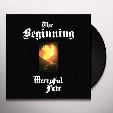 Mercyful Fate BEGINNING (AMBER VINYL) Vinyl Record