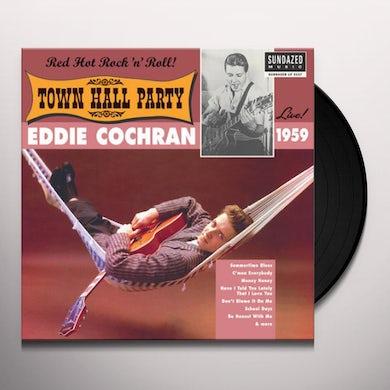 Eddie Cochran  LIVE AT TOWN HALL PARTY 1959 Vinyl Record