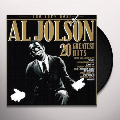 Al Jolson VERY BEST OF Vinyl Record