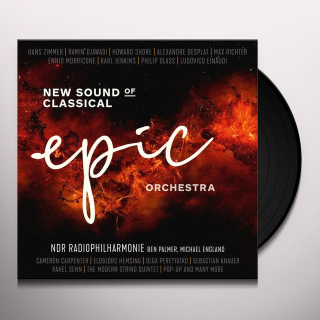 Ndr Radiophilharmonie EPIC ORCHESTRA: NEW SOUND OF CLASSICAL Vinyl Record