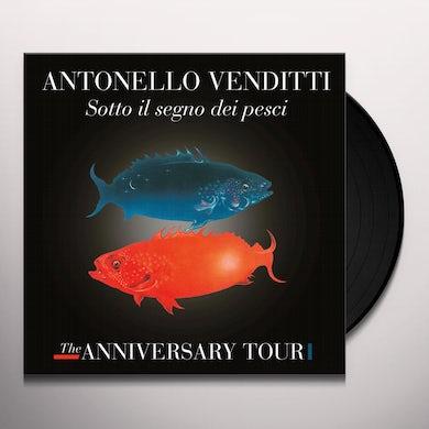 Antonello Venditti SOTTO IL SEGNO DEI PESCI: THE ANNIVERSARY TOUR Vinyl Record