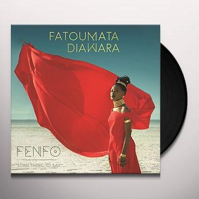 Fatoumata Diawara FENFO Vinyl Record
