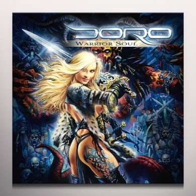 Doro WARRIOR SOUL - Gatefold Colored Double Vinyl Record