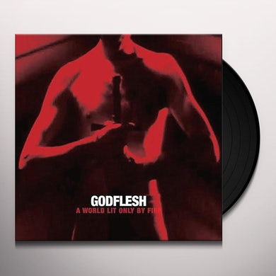 Godflesh WORLD LIT ONLY BY FIRE Vinyl Record
