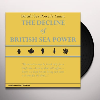 DECLINE OF BRITISH SEA POWER Vinyl Record