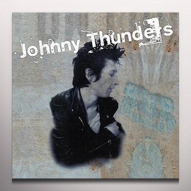 Johnny Thunders CRITICS CHOICE / SO ALONE Vinyl Record