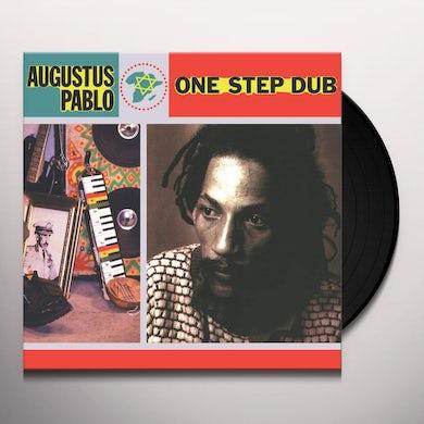 Augustus Pablo ONE STEP DUB Vinyl Record