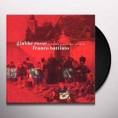 Franco Battiato GIUBBE ROSSE: IL 1 ALBUM DAL VIVO DI BATTIATO Vinyl Record