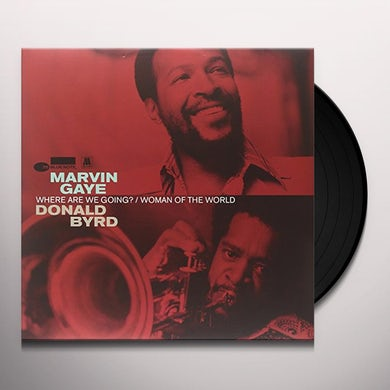Marvin Gaye WHERE ARE WE GOING Vinyl Record