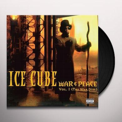 Ice Cube WAR & PEACE 1 (THE WAR DISC) Vinyl Record