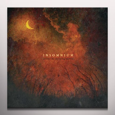 Insomnium ABOVE THE WEEPING WORLD - Limited Edition Orange Colored Vinyl Record