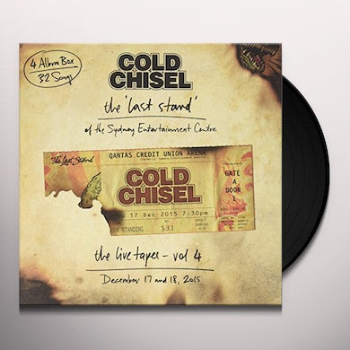 Cold Chisel LIVE TAPES 4: LAST STAND OF SYDNEY ENTERTAINMENT Vinyl Record