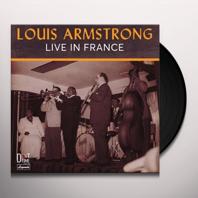 Louis Armstrong LIVE IN FRANCE 1948 Vinyl Record