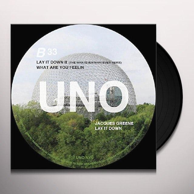 Jacques Greene LAY IT DOWN Vinyl Record