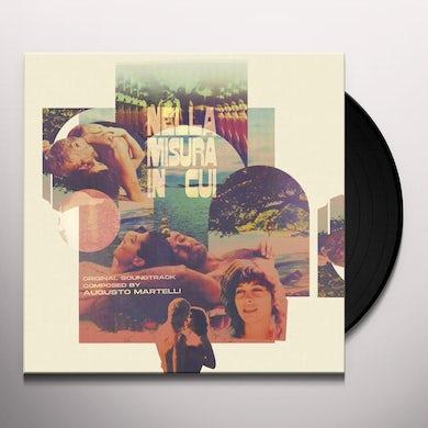 Augusto Martelli  NELLA MISURA IN CUI / Original Soundtrack Vinyl Record