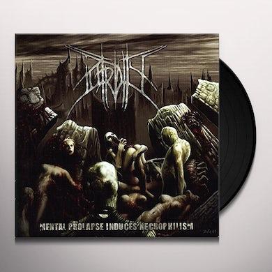 Putridity MENTAL PROLAPSE INDUCED NECROPHILISM Vinyl Record
