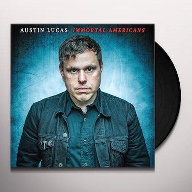Austin Lucas IMMORTAL AMERICANS Vinyl Record