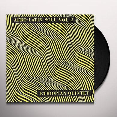 Mulatu Astatke AFRO LATIN SOUL 2 Vinyl Record